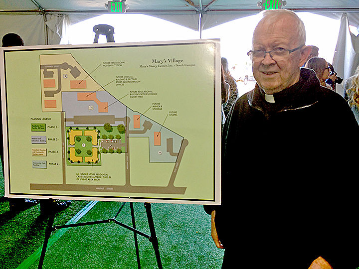 Mission Of Mercy – Construction begins on $12 million transitional center for homeless men