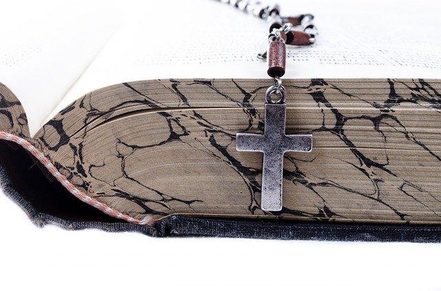 Cross Christian Christianity Book